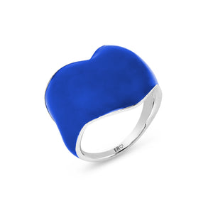 THE HEART RING - BLUE BLOODED