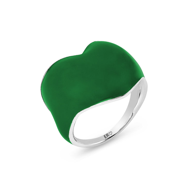 THE HEART RING - GO GREEN