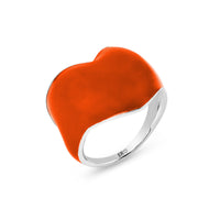 THE HEART RING - ORANGE AID