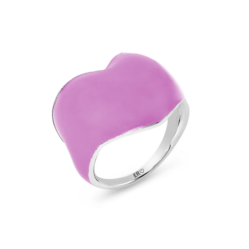 THE HEART RING - PINK LADY