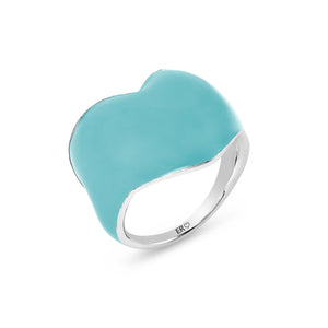 THE HEART RING - TURQUOISE