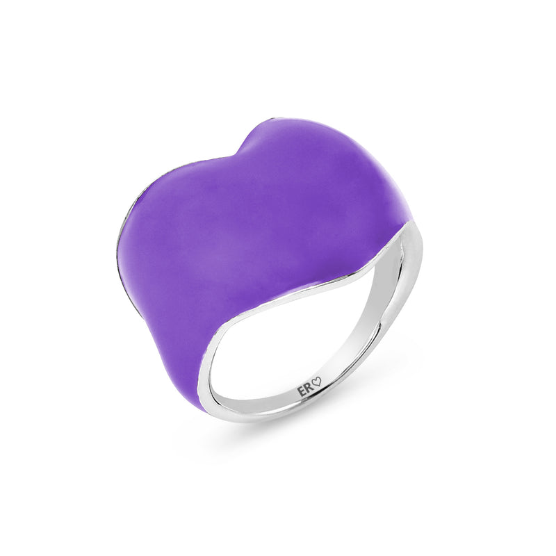 THE HEART RING - ULTRA VIOLET