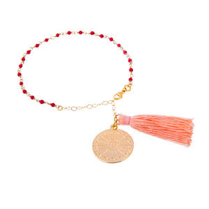 Red Agate Root Chakra Friendship Bracelet (Survival)