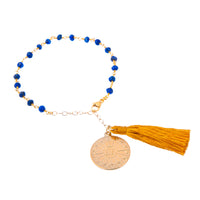 Lapis Lazuli Third Eye Chakra Friendship Bracelet (Intuition)