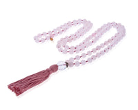 Rose Quartz Mala Necklace (Self-Love and Tranquility)