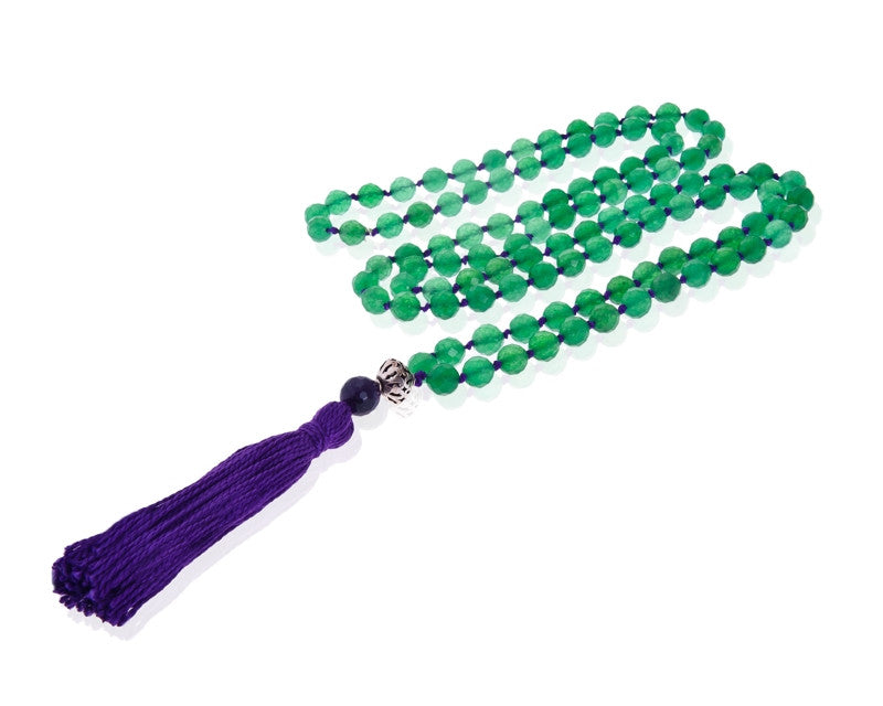 Green Onyx Mala Necklace