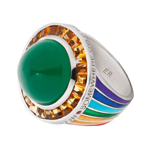 SOMEWHERE OVER THE RAINBOW RING