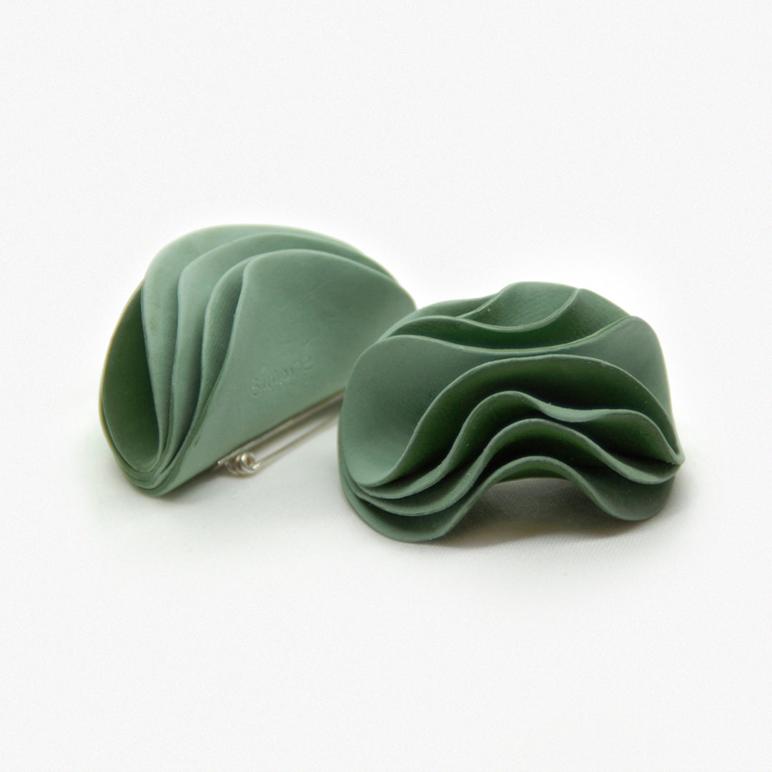 Rose Petal Brooch