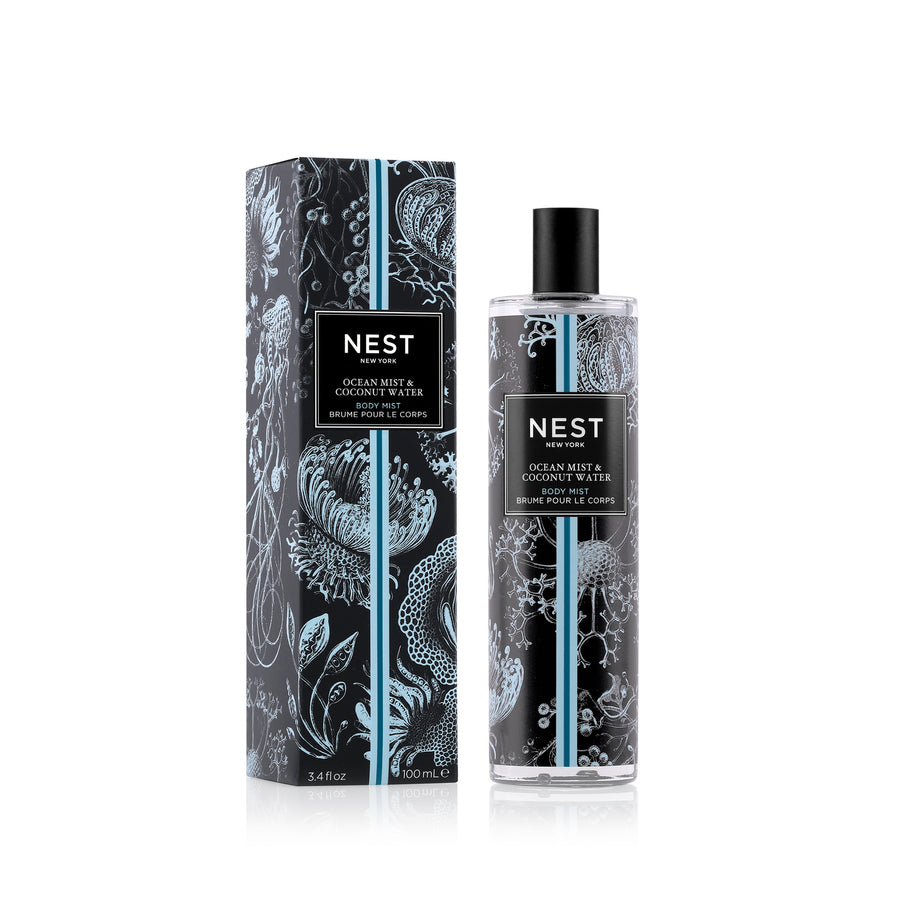 Ocean Mist & Coconut Water Body Mist (100mL)