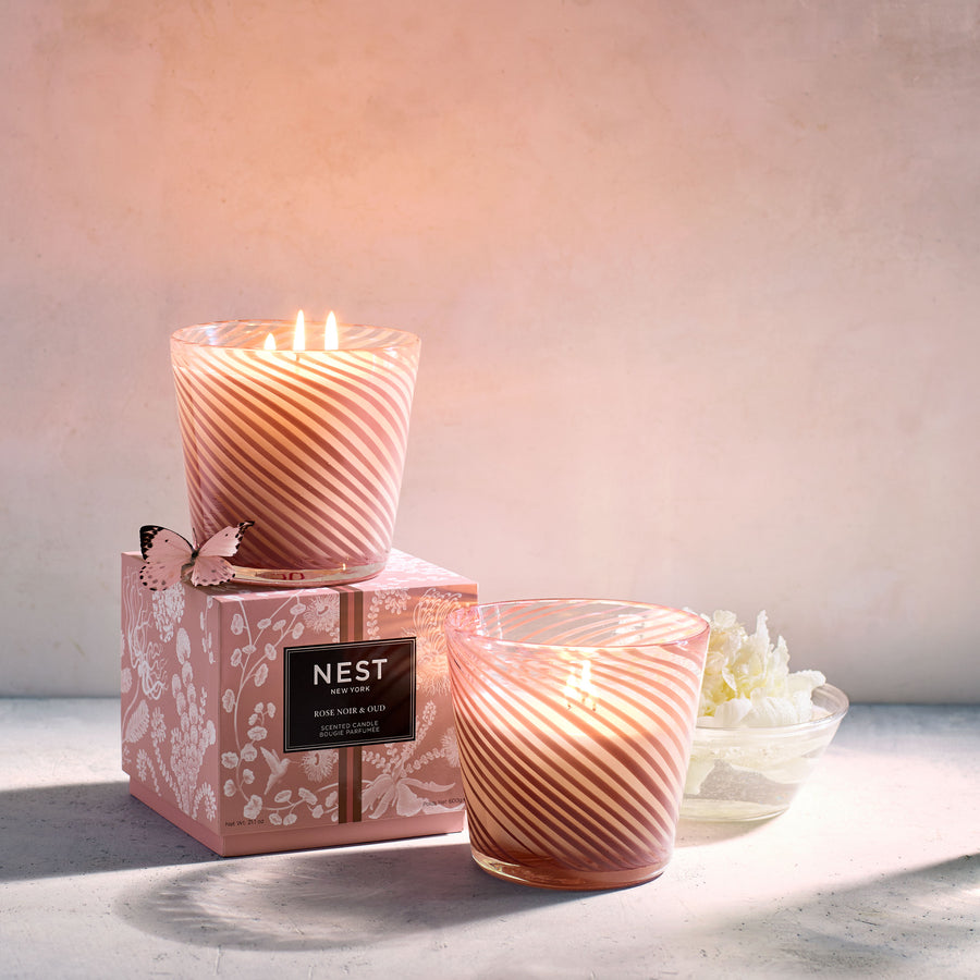 Rose Noir & Oud Specialty 3-Wick Candle