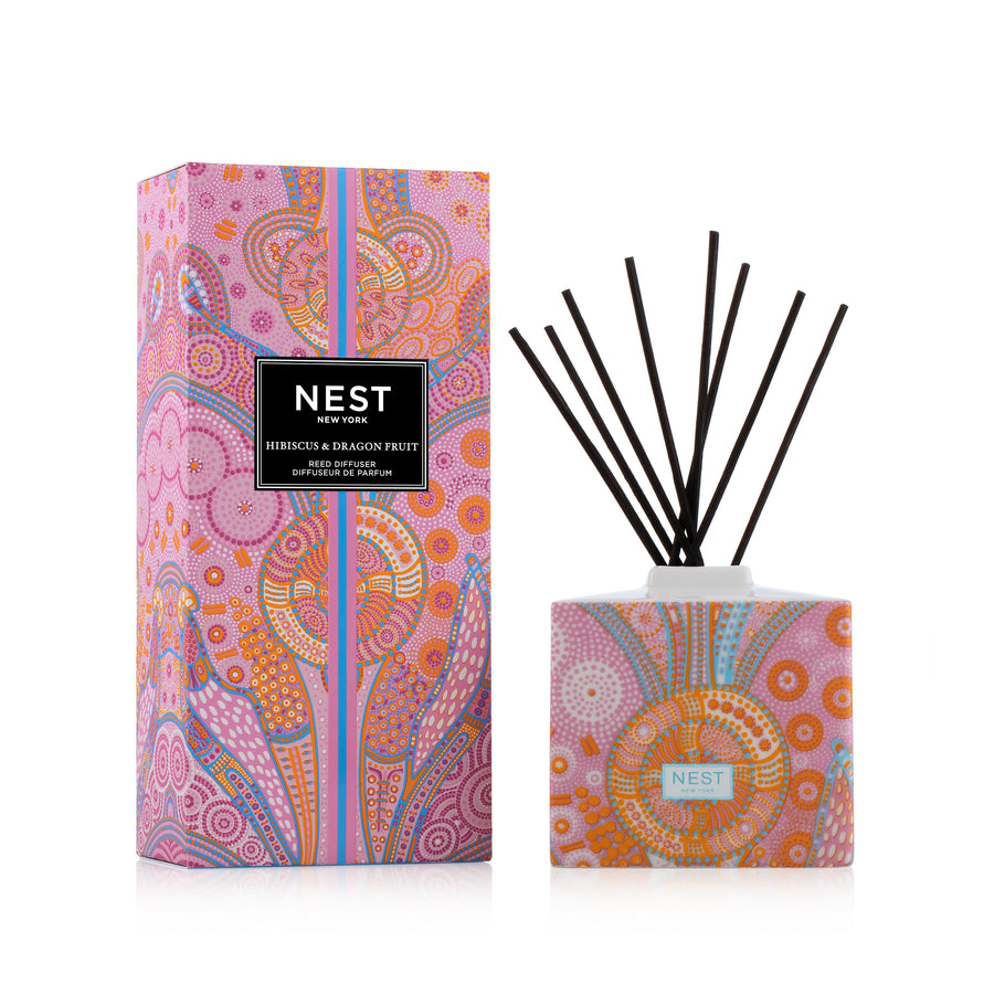Hibiscus & Dragon Fruit Reed Diffuser
