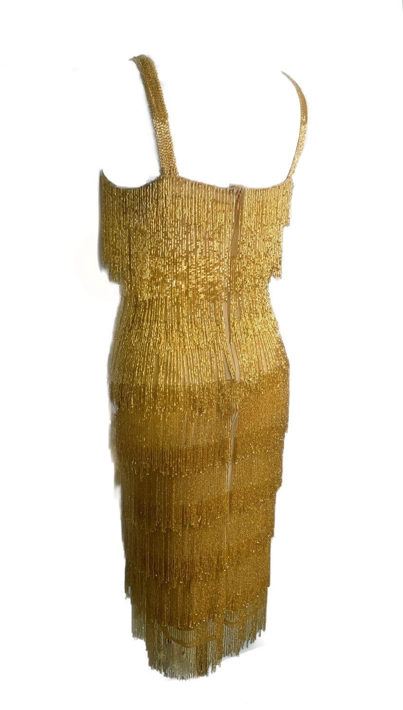 Gold Layer Dress