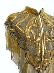 Gold Muse Cape