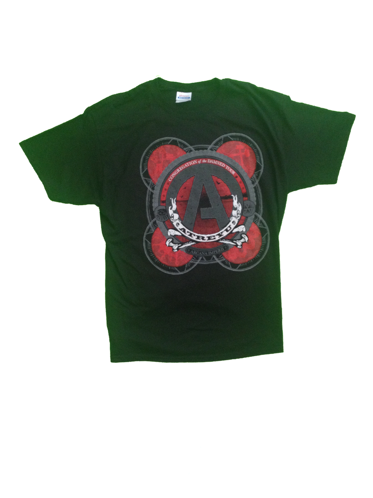 Atreyu - Red Congregation of the Damned Tour T Shirt
