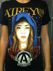 "Atreyu - Girl's ""Virgin Mary"" T Shirt"
