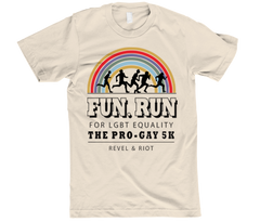 Fun. Run for LGBT Equality T Shirt
