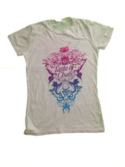 The Used/30 Secs to Mars TOC Women's White Tee