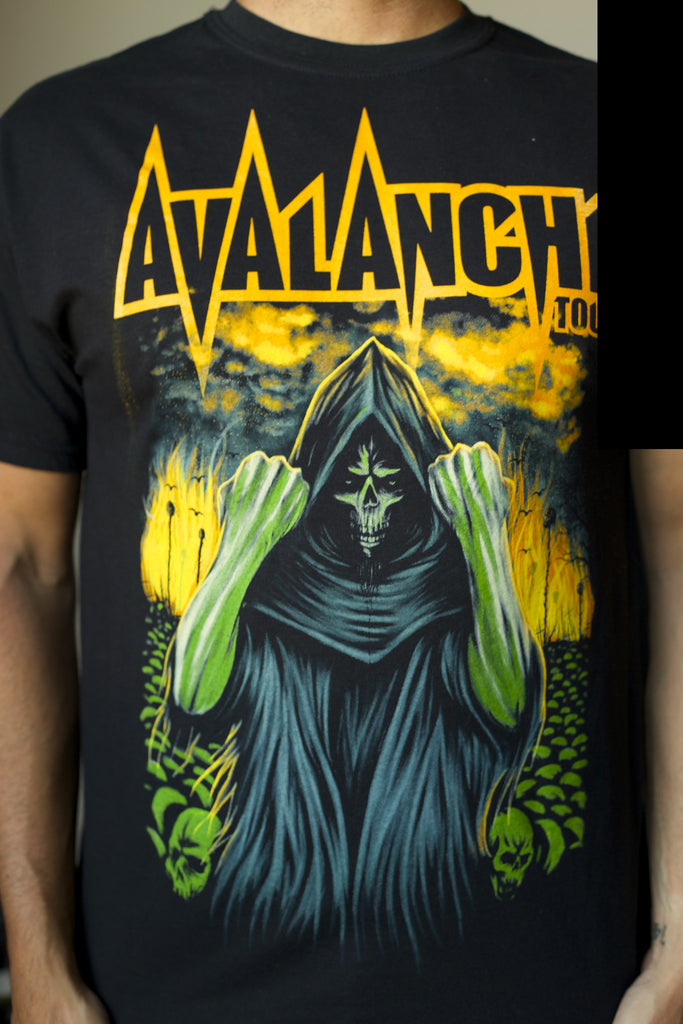 Avalanche Tour 2011 Black Tee