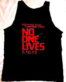 No One Lives Black Tank