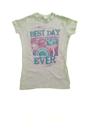 Warped Tour Best Day Ever Women's Tee