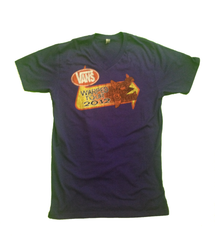 Warped Tour 2012 Purple V Neck