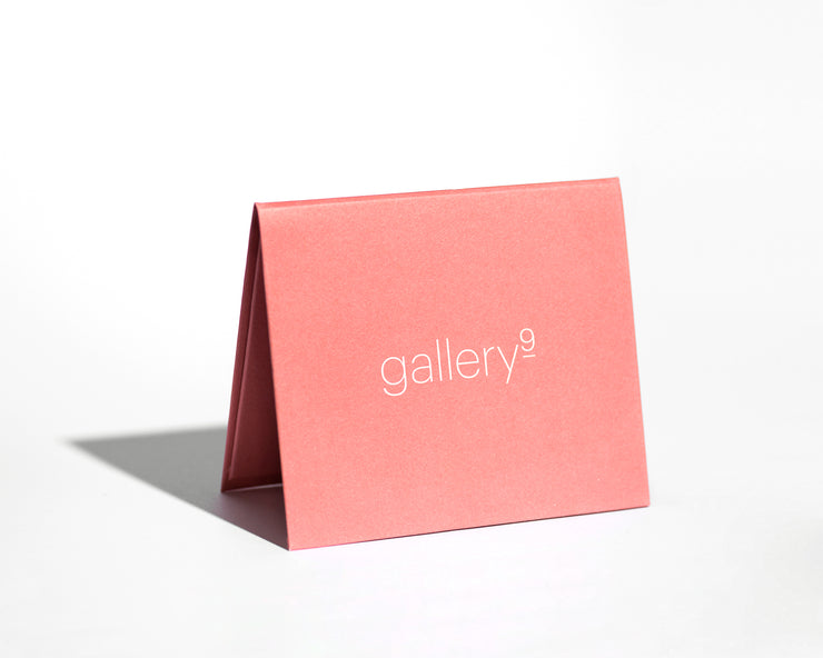 GALLERY 9 CIFT CARD