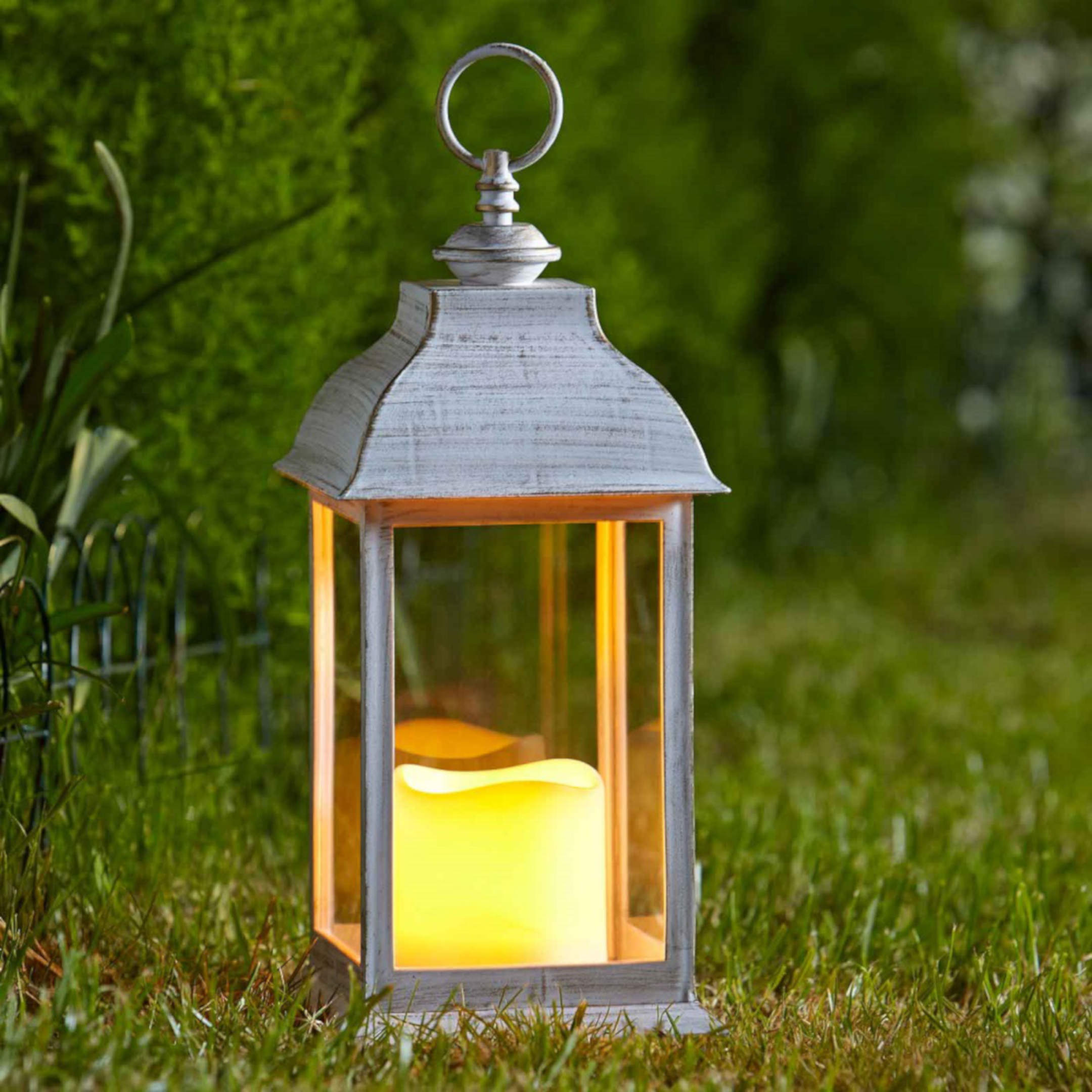 Dorset Cream Lantern # LED lampáš