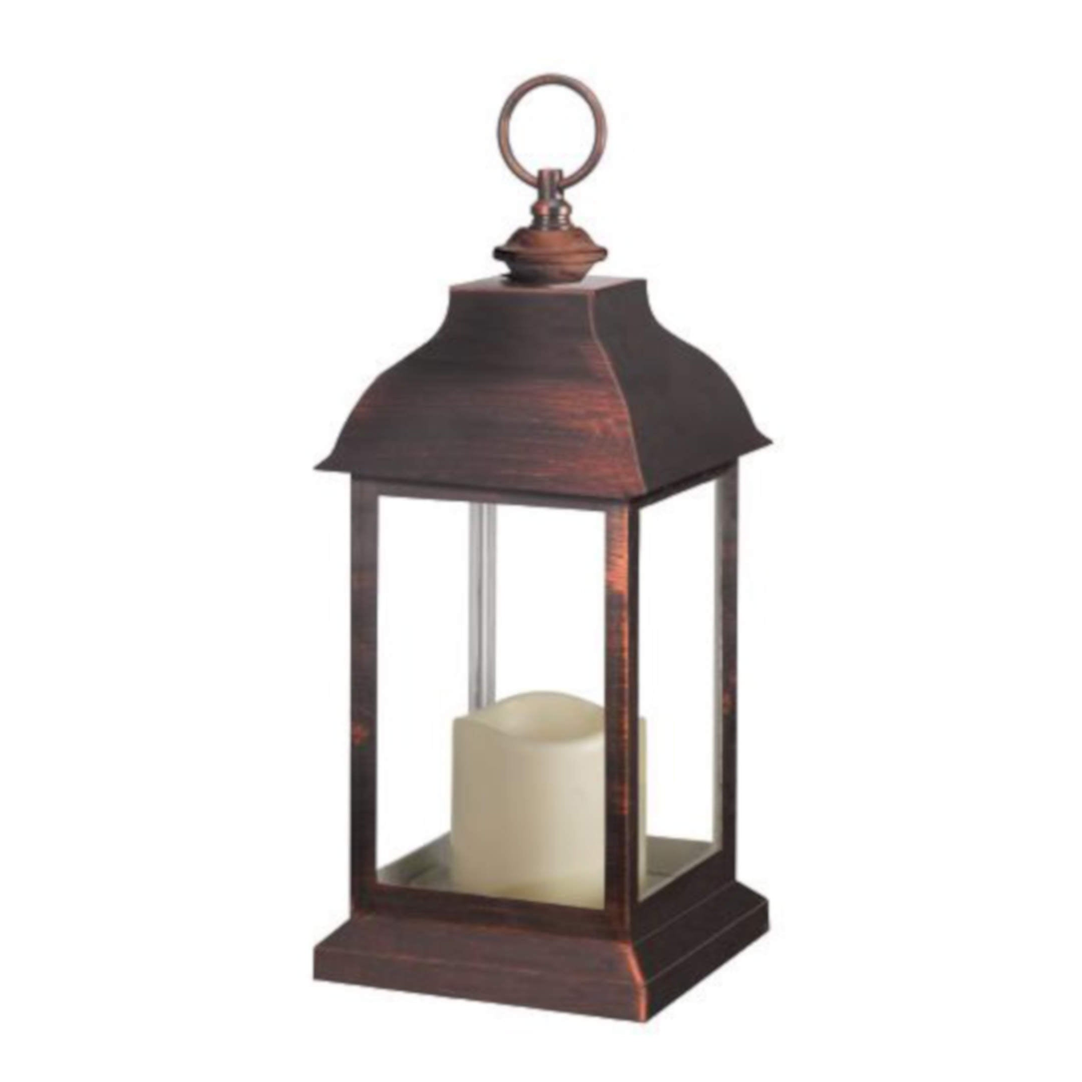 Dorset Copper Lantern # LED lampáš