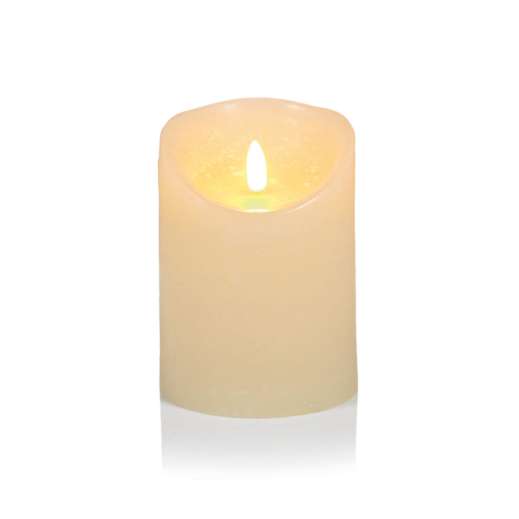 Flickabright Cream Candle # vosková LED sviečka