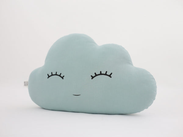 Dusty Mint Cloud Cushion