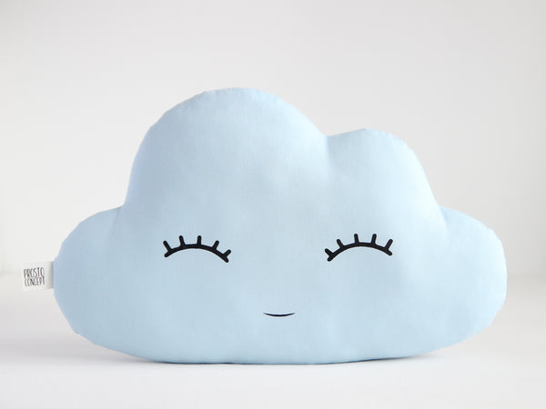 Baby Blue Cloud Pillow Cloud Cushion, baby boy nursery decor kid cushion personalized baby pillow shaped cloud throw pillow baby shower gift