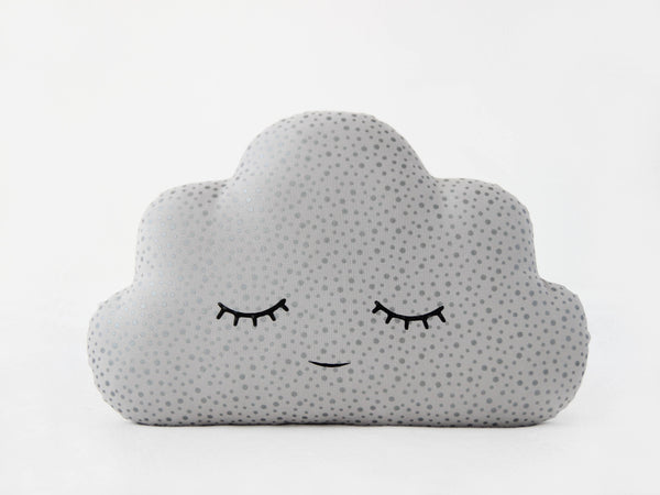 Silver Gray Cloud Cushion - Limited Edition