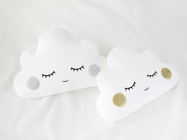 Shiny cheeks white cloud cushion