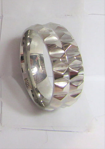 Size 9 Stainless Surgical Steel Ring / 8mm Width
