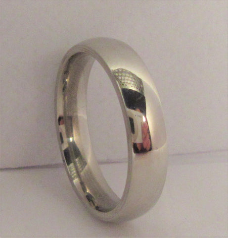 Size 6 Stainless Surgical Steel Ring / 4mm Width