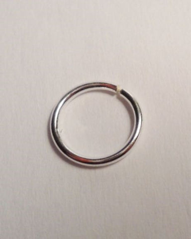 Sterling Silver Daith Seamless Hoop 20g for Migraines 7 mm or 9 mm - I Love My Piercings!