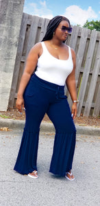 """Jazzy"" wide leg pants"