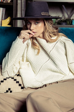 Ciara Cable Knit Sweater