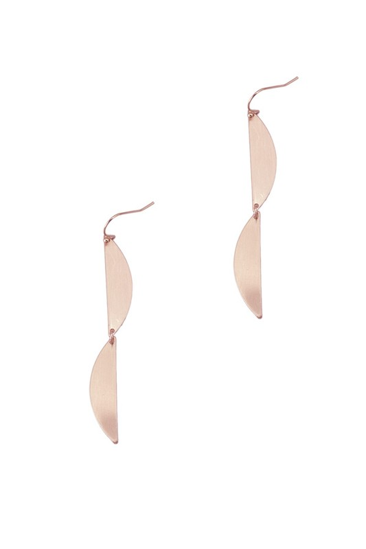 Copper Drop Earring