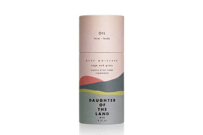 Sage + Grass Deep Moisture Oil