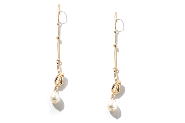 Lumin Pearl Knotted Drops