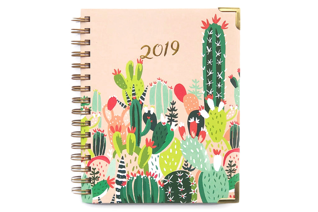 2019 Prickly Pear 12-Month Planner