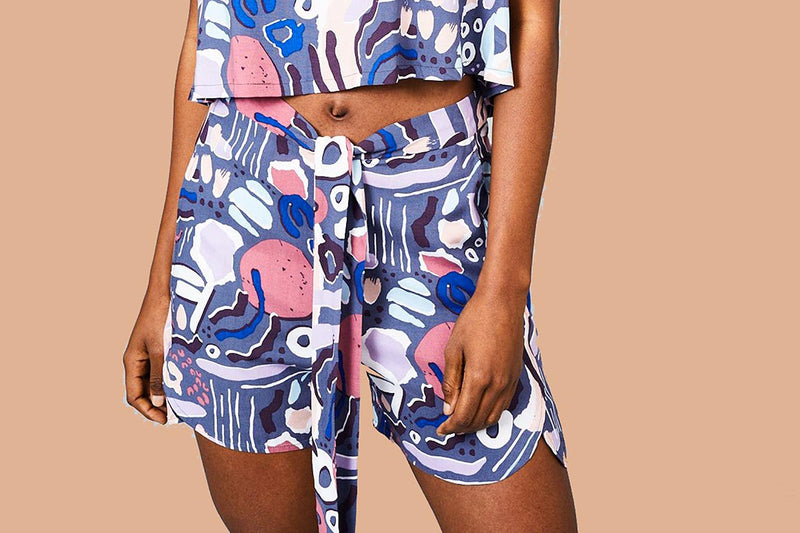 The Nostalgia Print Short