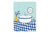 Relax Birthday Bathtub Card