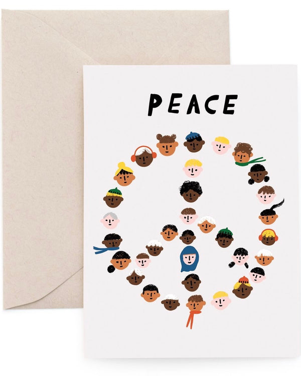 Peace Pals Card