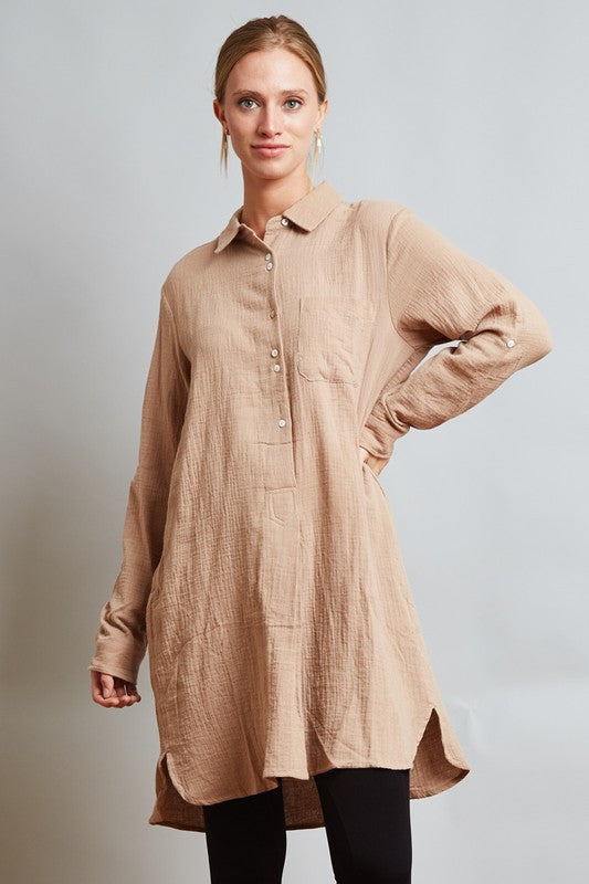 Double Button Tunic