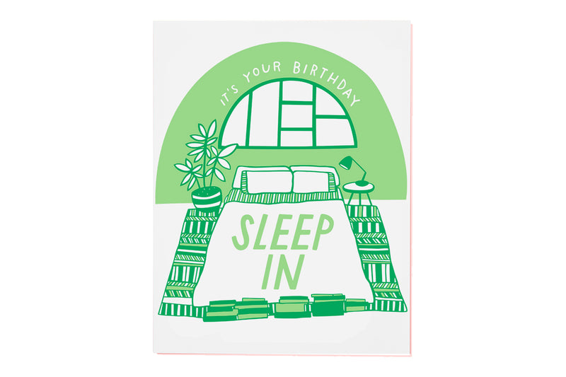 Sleep In Card