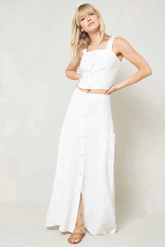 Clear Skies Maxi Skirt