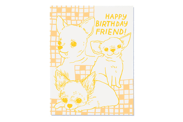 Chi Birthday Card
