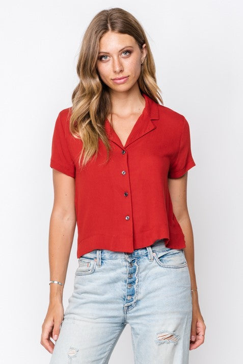 Allison Button Up Top
